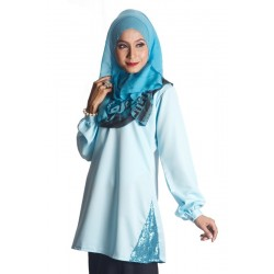 RANA ERIESSA TOPS IN BABY BLUE