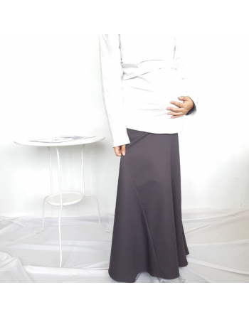 PLAIN MATERNITY SKIRT IN...